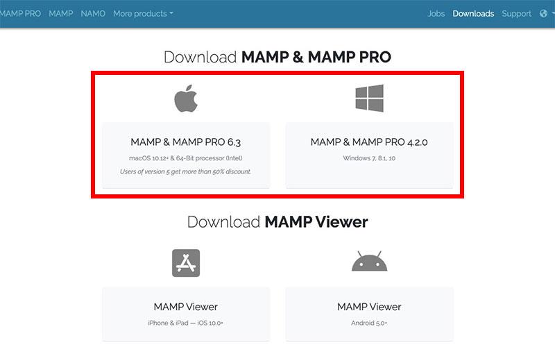MAMPのインストール方法(Mac版、Windows版)