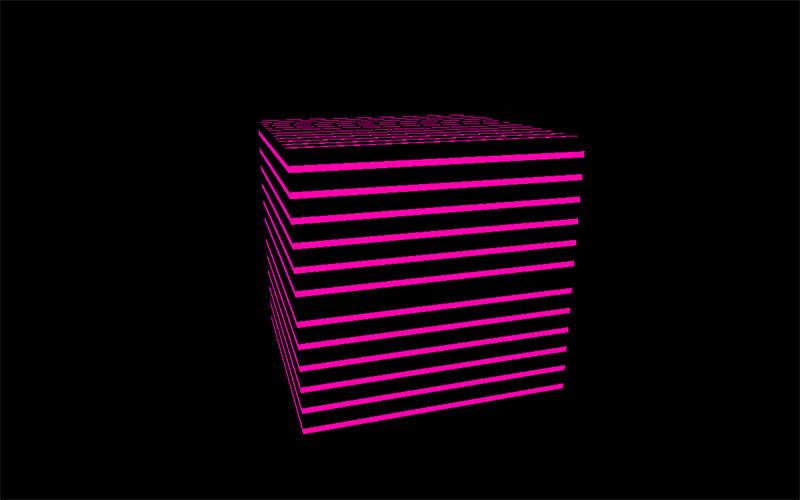 【応用編】BoxGeometryにオリジナルシェーダーを適用する